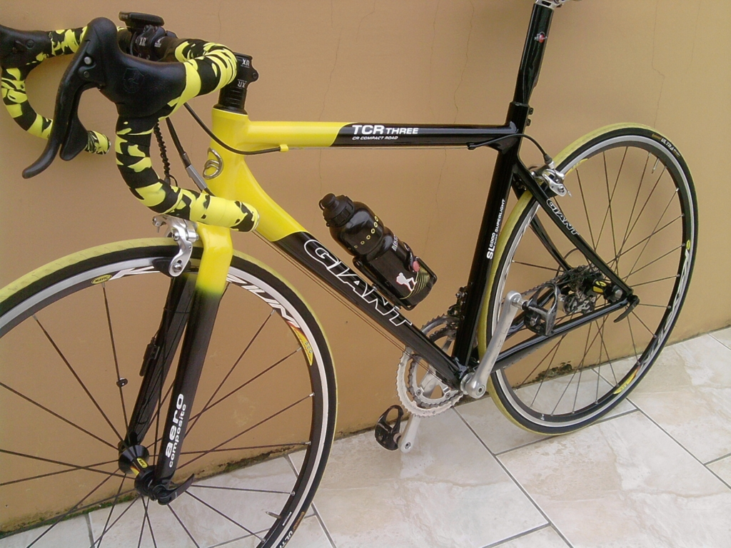 Bicicleta Giant Tcr Three Pintesuabike Pintura De